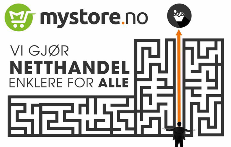 Mystore inn som utstiller på The Future of Business